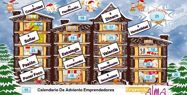 Calendario De Adviento, Día 12: Determinación