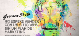 Plan de Marketing: No espere vender con un sitio web sin un plan de Marketing